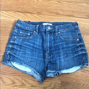 Aritzia Denim Cut-off Shorts